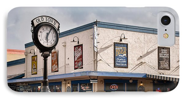 Old Town - Kissimmee - Florida IPhone Case by Greg Jackson