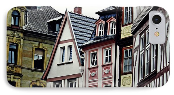 Old Town Mainz IPhone Case by Sarah Loft