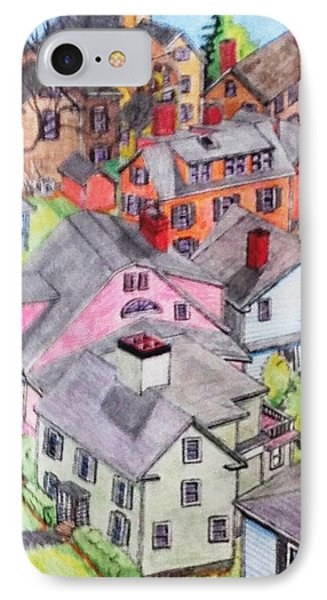 Old Town Marblehead IPhone Case by Paul Meinerth