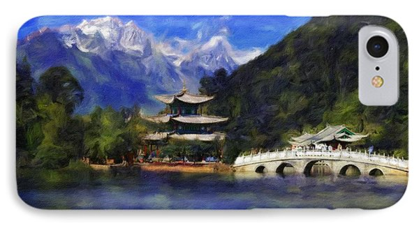 Old Town Of Lijiang Phone Case by Vincent Monozlay