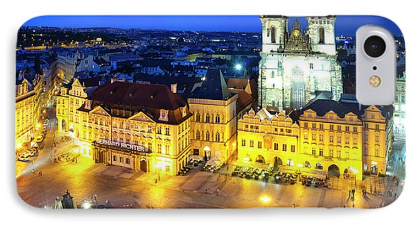 IPhone Case featuring the photograph Old Town Square by Fabrizio Troiani