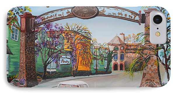 Old Town Temecula IPhone Case by Eric Johansen