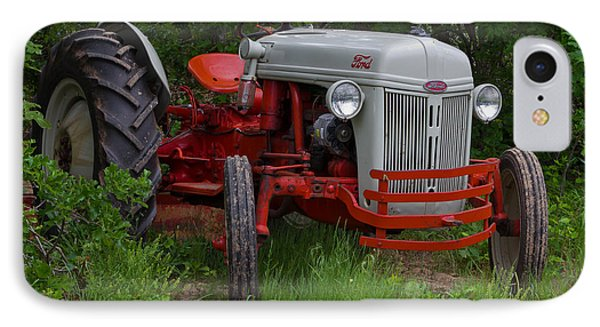 Old Tractor IPhone Case by Doug Long