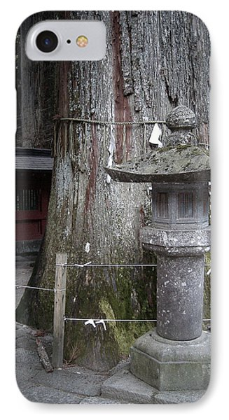 Old Tree IPhone Case by Naxart Studio