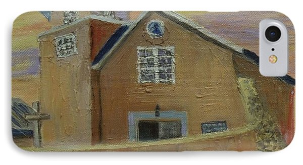 Old Truches Mission Of Holy Rosary -- Sold IPhone Case by Judith Espinoza