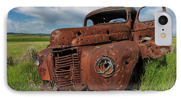 Old Truck IPhone Case by Leland D Howard