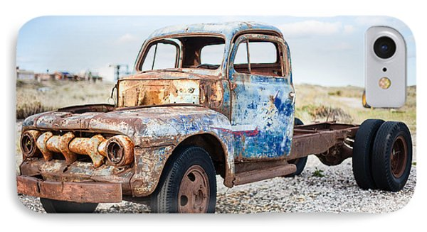 IPhone Case featuring the photograph Old Truck by Silvia Bruno