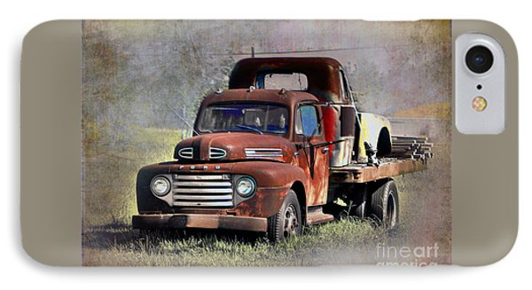 IPhone Case featuring the photograph Old Trucks by Savannah Gibbs