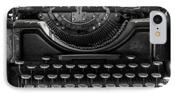 Old Typewriter IPhone Case by Thomas Young
