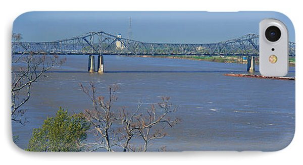 Old Vicksburg Bridge Crossing Ms River IPhone Case by Panoramic Images