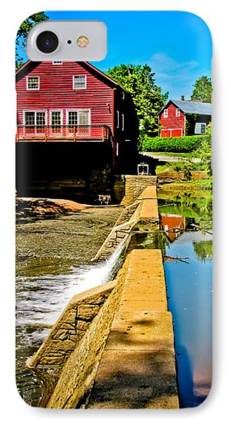 Old Village Grist Mill IPhone Case by Colleen Kammerer