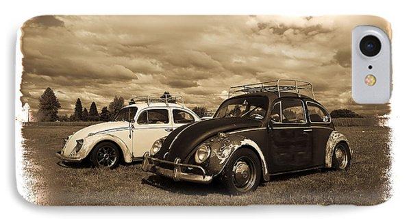 Old Vw Beetles Phone Case by Steve McKinzie