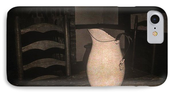 Old Water Pitcher IPhone Case by Cindy Nearing
