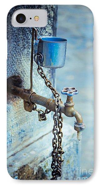 Old Water Tap Phone Case by Gabriela Insuratelu