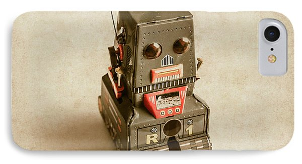 Old Weathered Ai Bot IPhone Case by Jorgo Photography - Wall Art Gallery