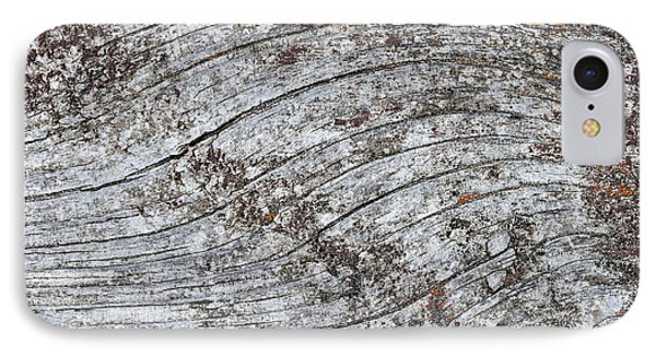 Old Weathered Wood Abstract IPhone Case by Elena Elisseeva