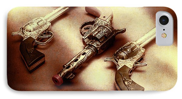 Old Western At Play IPhone Case by Jorgo Photography - Wall Art Gallery