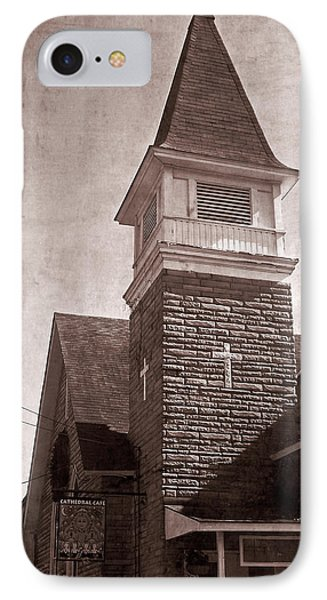 IPhone Case featuring the photograph Old Western Cathedral Cafe by Aimee L Maher Photography and Art Visit ALMGallerydotcom