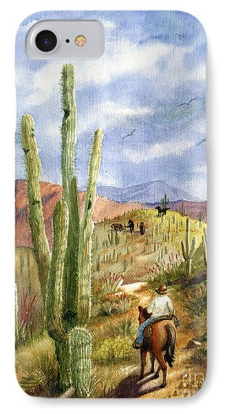 Old Western Skies IPhone Case by Marilyn Smith