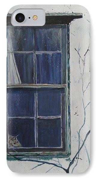 Old Window 2 IPhone Case by Christine Lathrop