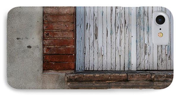 Old Window With Closed Shutters IPhone Case by Elena Elisseeva