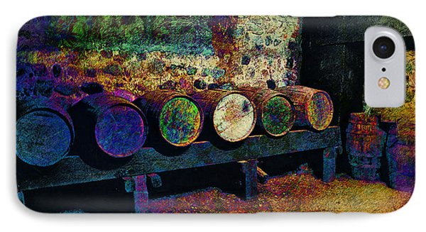 IPhone Case featuring the digital art Old Wine Barrels by Glenn McCarthy Art and Photography