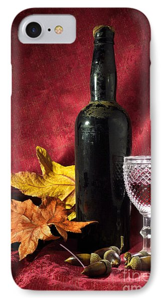 Old Wine Bottle IPhone Case