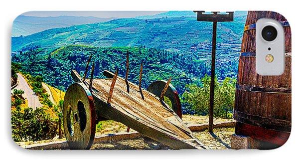 Old Wine Cart IPhone Case by Rick Bragan