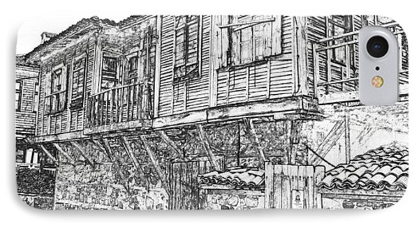 Old Wood House IPhone Case