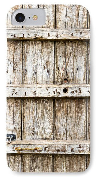 Old Wooden Gate IPhone Case by Tom Gowanlock