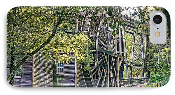 IPhone Case featuring the photograph Old Wooden Mill by Kim Wilson