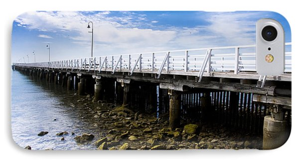 Old Wooden Pier IPhone Case by Jorgo Photography - Wall Art Gallery