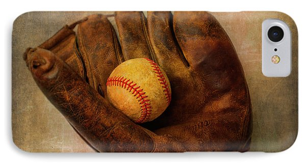 Old Worn Ball And Mitt IPhone Case