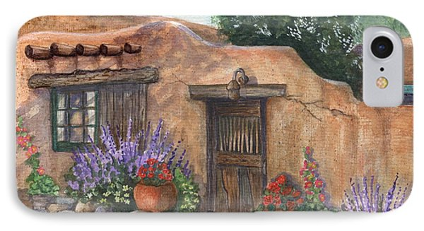 Old Adobe Cottage IPhone Case by Marilyn Smith