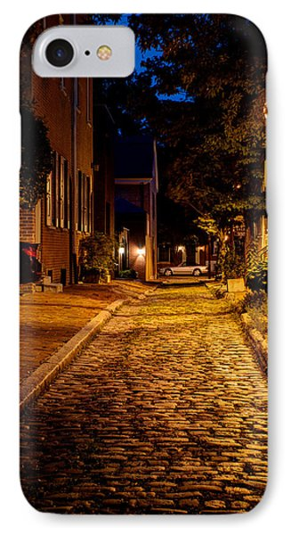 Olde Town Philly Alley IPhone Case by Mark Dodd