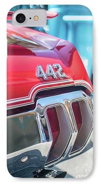 Olds 442 Classic Car IPhone Case