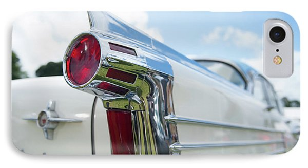 Oldsmobile Tail IPhone Case by Helen Northcott