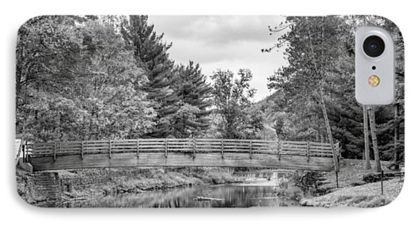 Ole Bull State Park - Pennsylvania - Bw IPhone Case