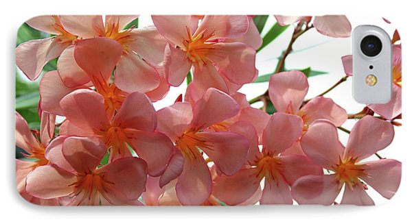 IPhone Case featuring the photograph Oleander Dr. Ragioneri 4 by Wilhelm Hufnagl