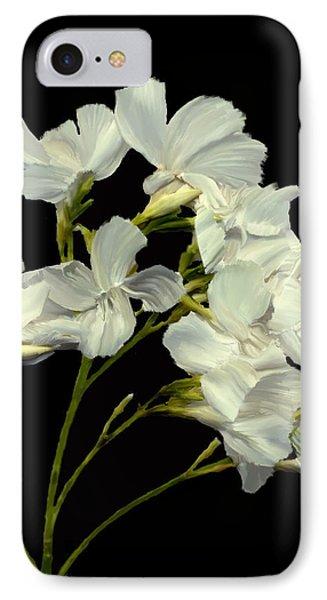 Oleander Phone Case by Kurt Van Wagner