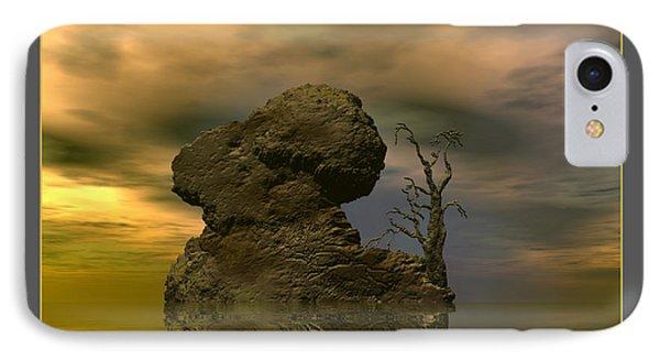 Olim - Quondam - Surrealism IPhone Case by Sipo Liimatainen
