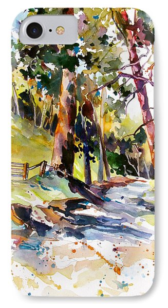 IPhone Case featuring the painting Olinda Trees Maui 2 by Rae Andrews