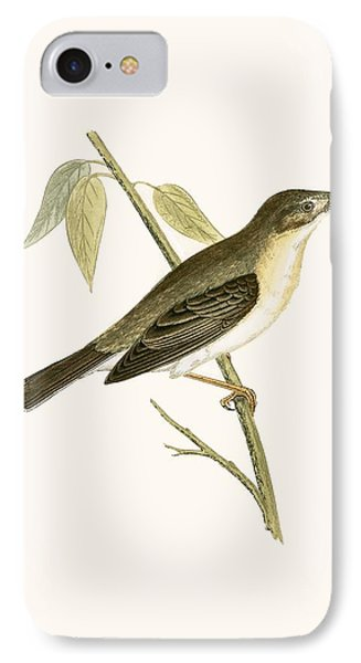 Olivaceous Warbler IPhone 7 Case by English School
