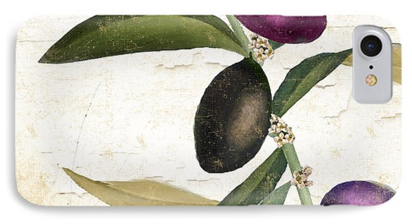 Olive Branch Iv IPhone Case by Mindy Sommers