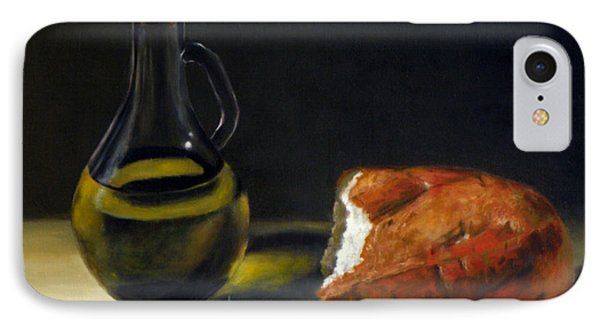 Olive Oil And Bread IPhone Case