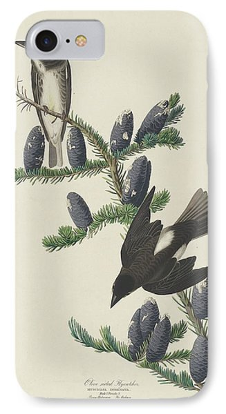 Flycatcher iPhone 7 Case - Olive-sided Flycatcher by Dreyer Wildlife Print Collections