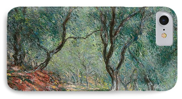 Olive Trees In The Moreno Garden IPhone Case