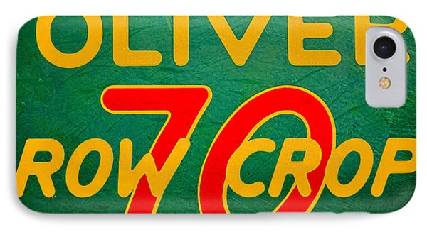 Oliver 70 Row Crop IPhone Case by Olivier Le Queinec