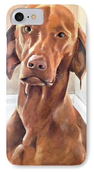 Oliver IPhone Case by Diane Daigle