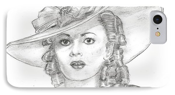 Olivia De Havilland Phone Case by Steven White